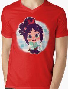 Vanellope Mens V-Neck T-Shirt