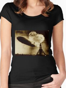 Hindenberg Women's Fitted Scoop T-Shirt