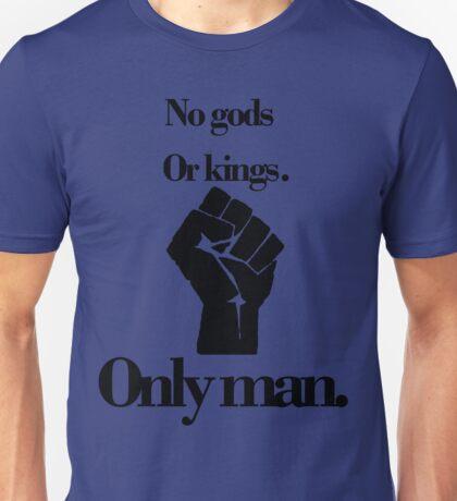 No gods or kings only man-Bioshock Unisex T-Shirt