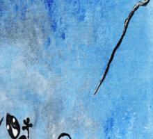 Blue Nile Lizard Sticker