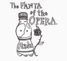 Fanta of the Opera BW by petitehero