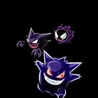 Gastly Haunter Gengar Assortment by Aaron Pacey