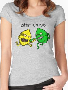 Bitter Enemies Women's Fitted Scoop T-Shirt