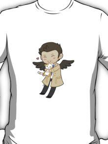 Cas Supernatural Chibi T-Shirt