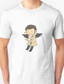 Cas Supernatural Chibi Unisex T-Shirt