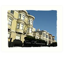 """ San Francisco "" Art Print"