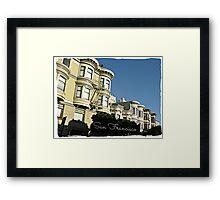 """ San Francisco "" Framed Print"