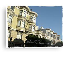 """"""" San Francisco """" Metal Print"""