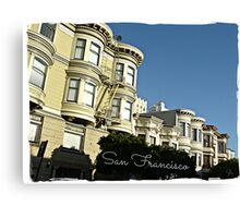 """ San Francisco "" Canvas Print"