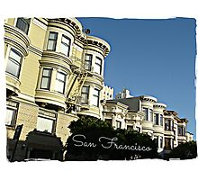 """ San Francisco "" Photographic Print"