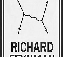 Richard P. Feynman by lasarack