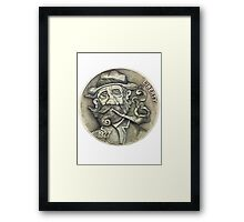 Levi Longwind Hobo Nickel Framed Print