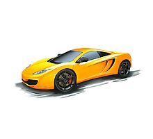 McLaren MP4-12C Photographic Print