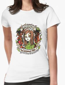 Clara Oswald Womens Fitted T-Shirt