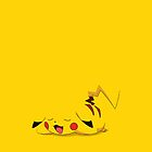 Pikachu Vector Flood Graphic by Aaron Pacey