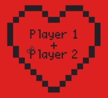 Player 1 (Boy) Loves Player 2 (Girl) by GensIota