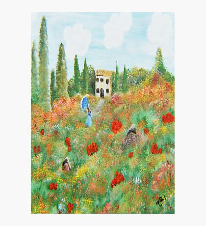 My Field Of Poppies Photographic Print
