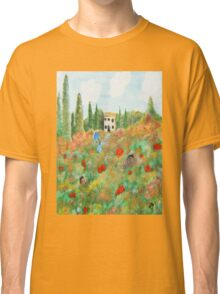 My Field Of Poppies Classic T-Shirt