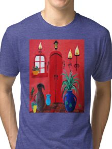 Mi Casa Tri-blend T-Shirt