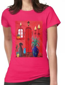 Mi Casa Womens Fitted T-Shirt