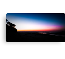 Berarra Beach in the blue hour Canvas Print