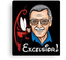 Excelsior! Canvas Print