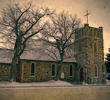 St John the Evangelist Anglican Church by Dorothy  Pinder