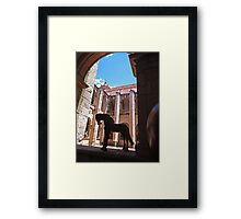 ©MS Horses And Shades IA Framed Print
