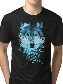 Falling in reverse - Raised by wolves Tri-blend T-Shirt