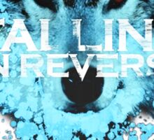 Falling in reverse - Raised by wolves Sticker