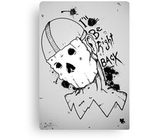 Be Right Back...? Canvas Print