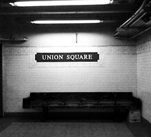 Union Square Subway Stop by Alessandra  Albino