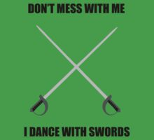 Highland Dance: I dance with swords! Kids Clothes