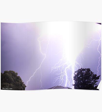 Summer Thunderstorm 6 Poster