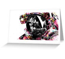 Sticker Astro (Print Edition) Greeting Card