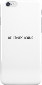 Other Side Genius - White background by CreativeImage