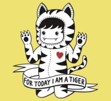 For today I am a tiger Baby Tee