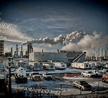 Lovely Afternoon at the Refinery - Ilinois  by Jack McCabe