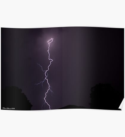 Summer Thunderstorm 8 Poster