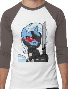 Metal Gear Trixie (My Little Pony: Friendship is Magic) Men's Baseball ¾ T-Shirt