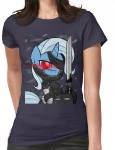 Metal Gear Trixie (My Little Pony: Friendship is Magic) Womens Fitted T-Shirt