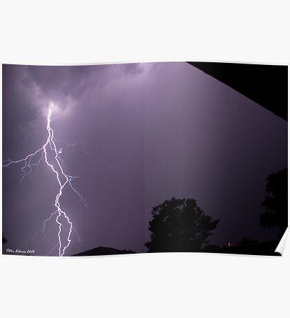 Summer Thunderstorm 10 Poster