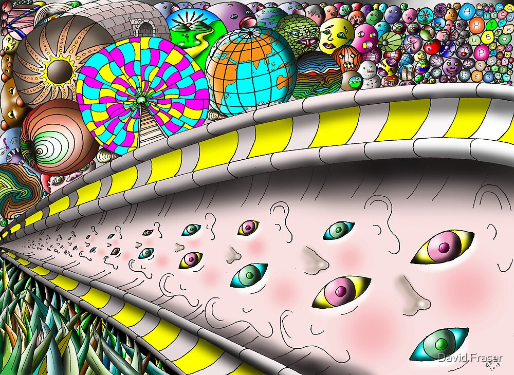 Eye Ball Composition by David Fraser