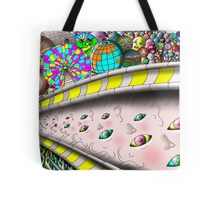 Eye Ball Composition Tote Bag