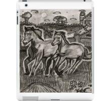 Galloping in the Wind iPad Case/Skin