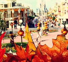 Magic Kingdom in the Fall by dkelly1126