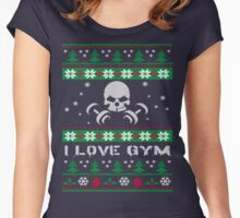 I Love Gyms ! Women's Fitted Scoop T-Shirt