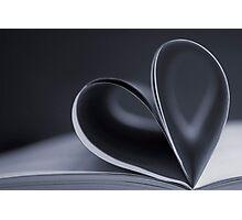 Love reading books Photographic Print