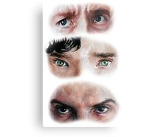 The Eyes of BBC's SHERLOCK Metal Print