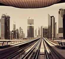 Dubai Skyline by naufalmq